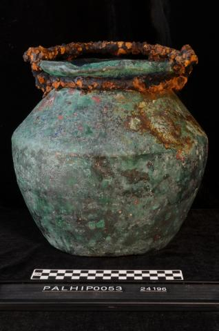 Copper Alloy and Iron Bucket, Villa Regina a Boscoreale (Italy)