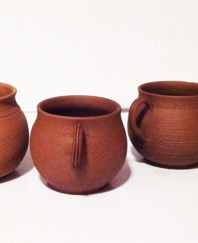 Reproductions of Thin-Walled Ware Beaker (by Gina Tibbott).